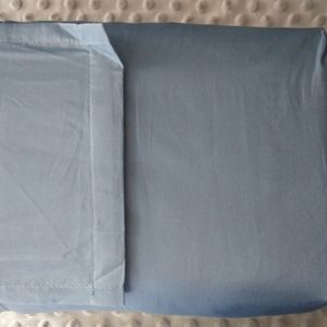 New Threshold Blue Twin Sheet Set